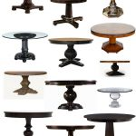 Many Kinds Of Pedestals For Table