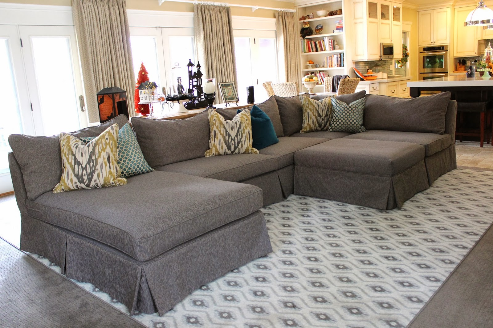 Excellent Awesome Slipcovers For Sectional Couches Homesfeed Alphanode Cool Chair Designs And Ideas Alphanodeonline