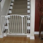 Modern Minimalist Child Safety Gates For Stairs Plus Rug Stairs