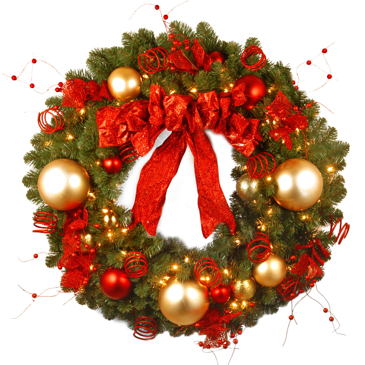 Beautiful Pictures Of Christmas Wreaths Homesfeed