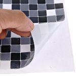 Removable Wall Tile Black And White