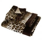 Roberto Cavalli Animal Print Bath Towels