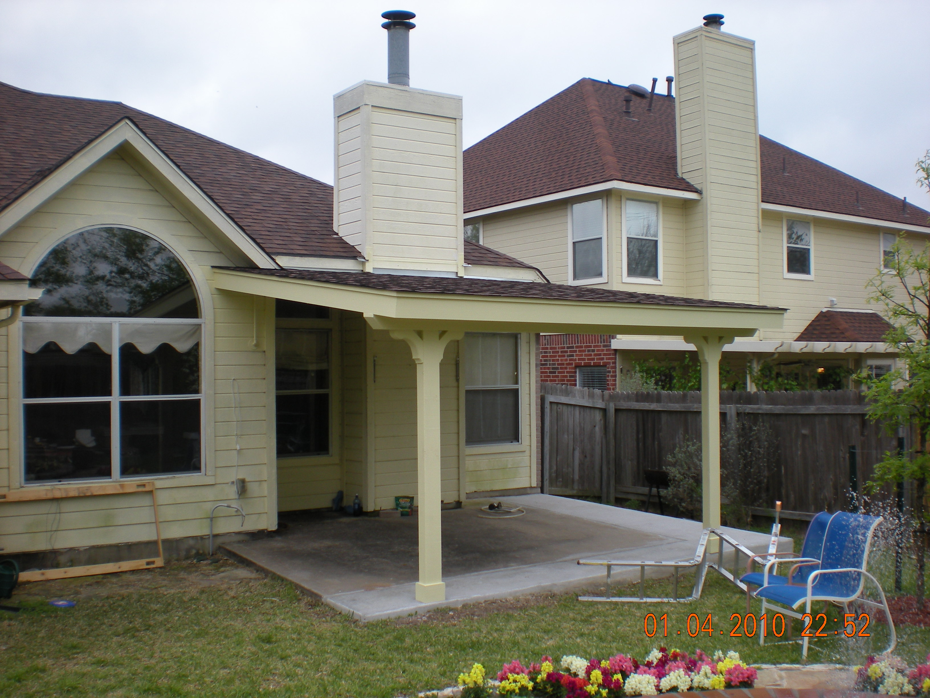 Natural Wooden Patio Covers - HomesFeed on Backyard Patio Covers  id=72285