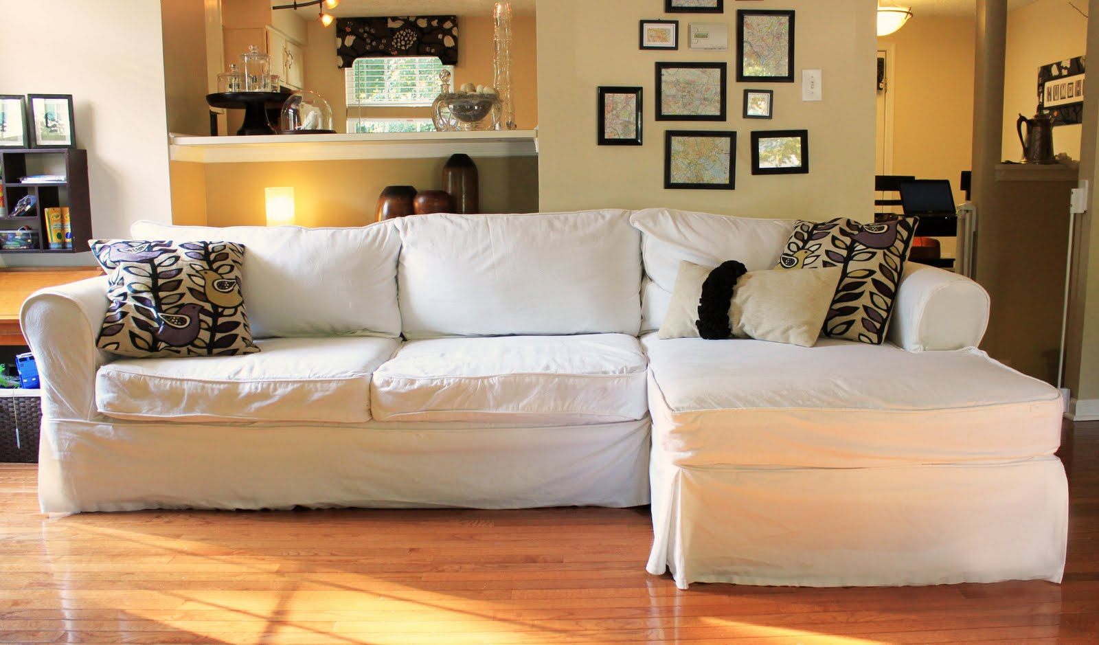 Awesome Slipcovers For Sectional Couches | HomesFeed