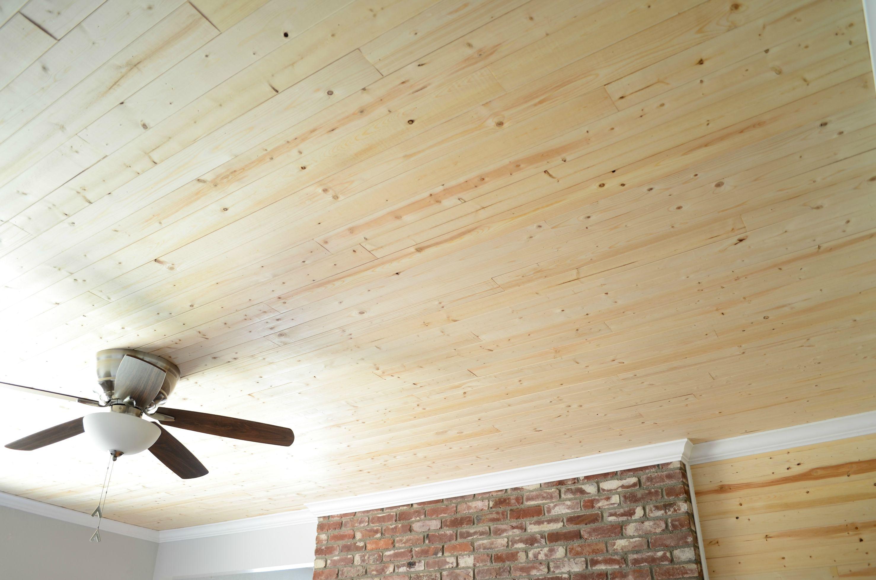Hardwood Dining Room Furniture Natural Wood Ceiling Planks Homesfeed