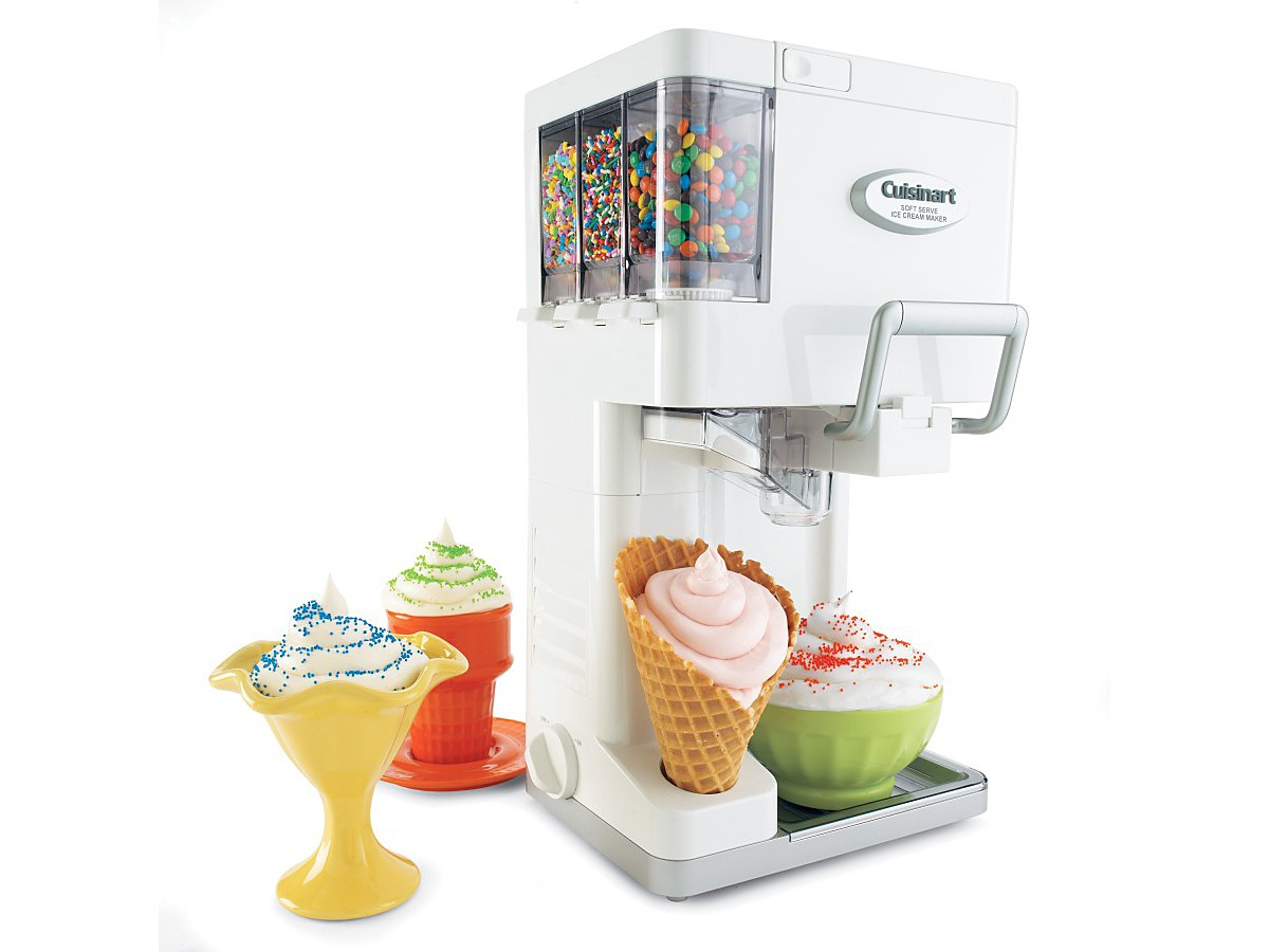 Soft Serve Ice Cream Machine For Home HomesFeed