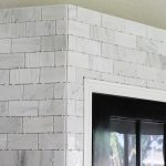 Stone Design Of Carrara Marble Backsplash