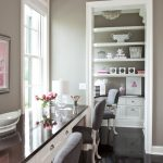 Top Rated Interior Paint With Gray Wall And Chairs For Home Office