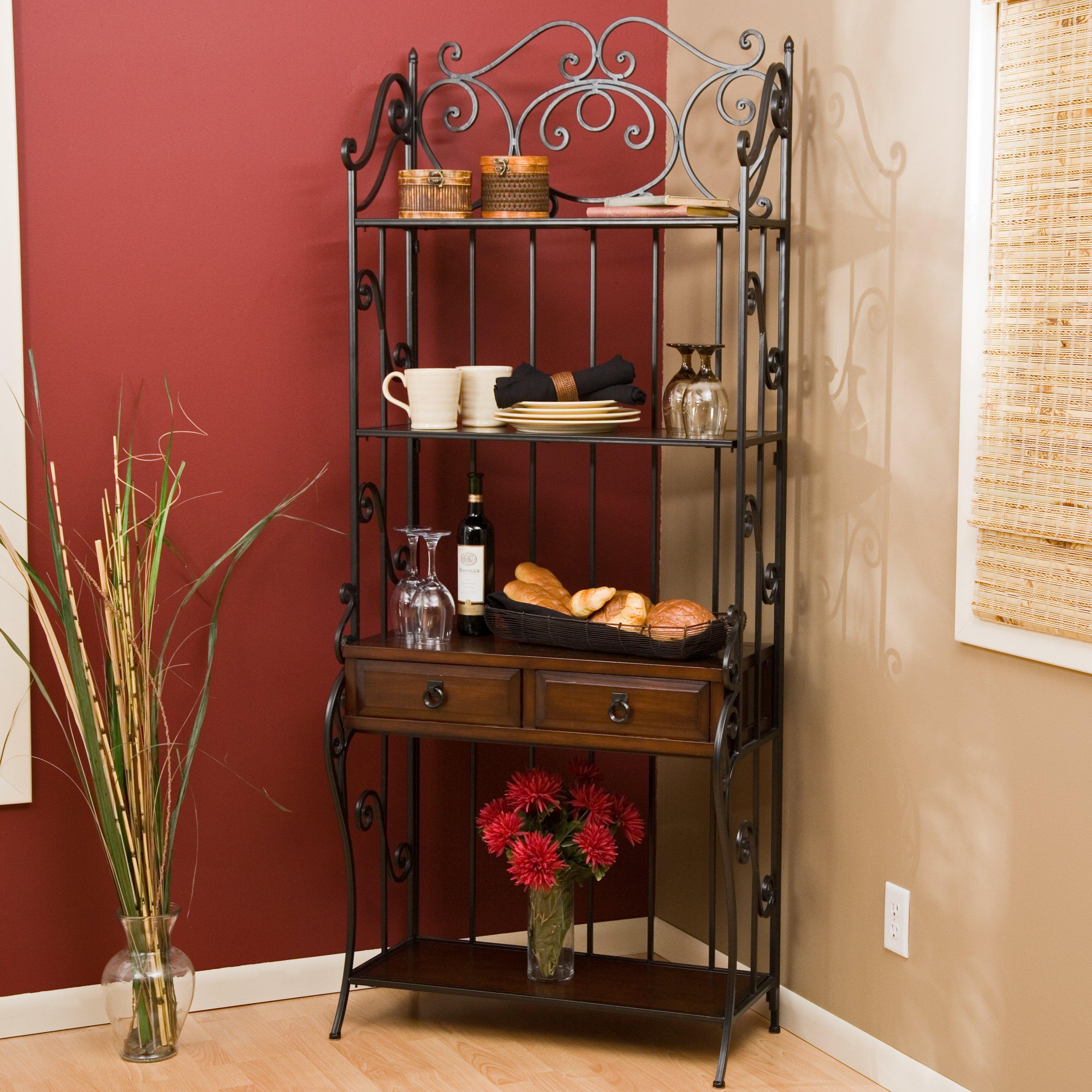 Antique Wooden Bakers Rack – HomesFeed