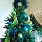 Unique Christmas Tree Toppers With Blue Feather