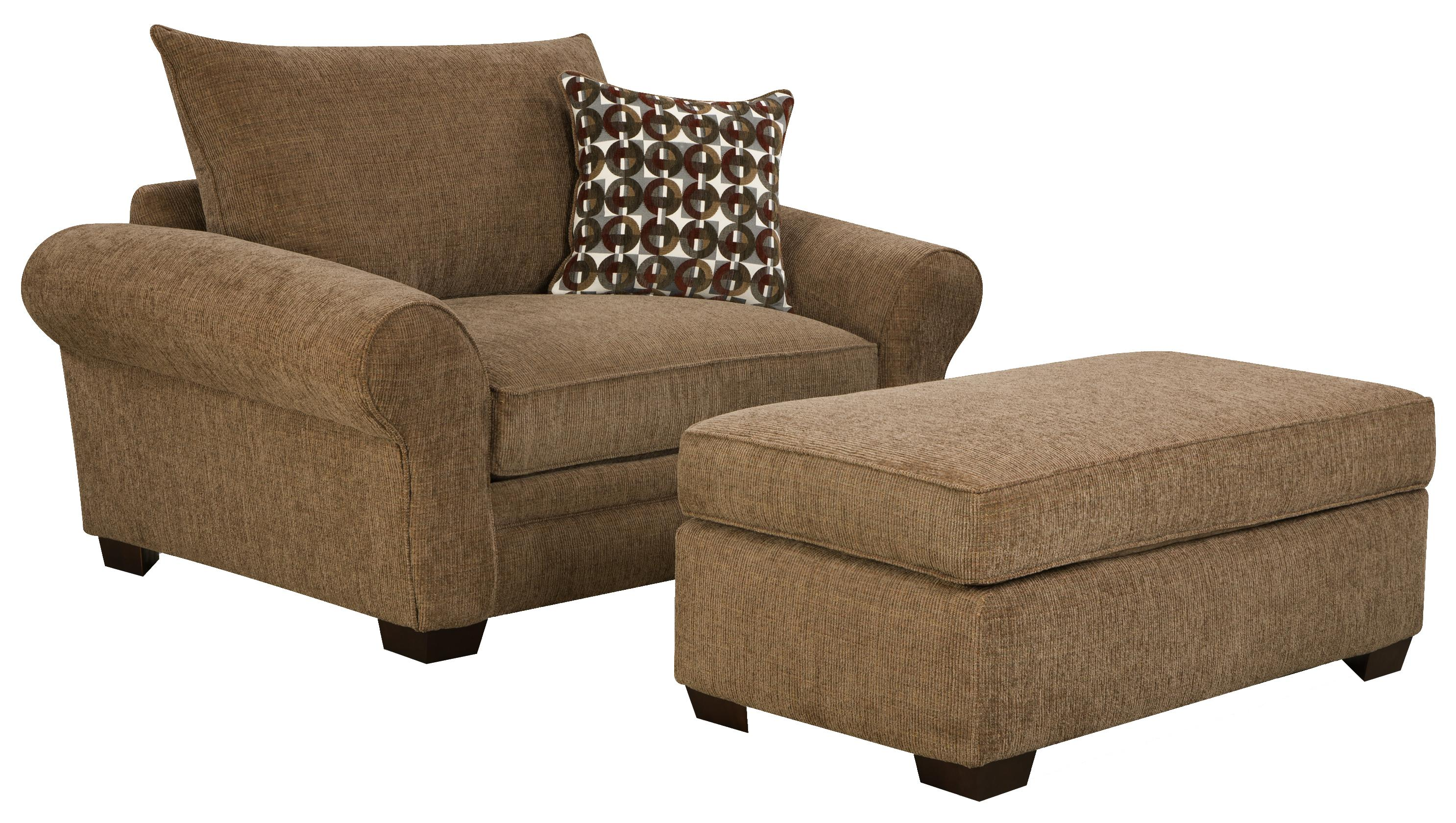 living room chair and ottoman chairs with ottomans for living room homesfeed 18443