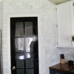 Whole Room Of KItchen Design Carrara Marble Backsplash