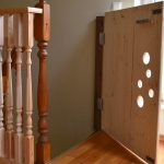 Wooden Child Safety Gates For Stairs With Holes