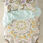Yellow Black Patterned Design Of Plum And Bow Bedding
