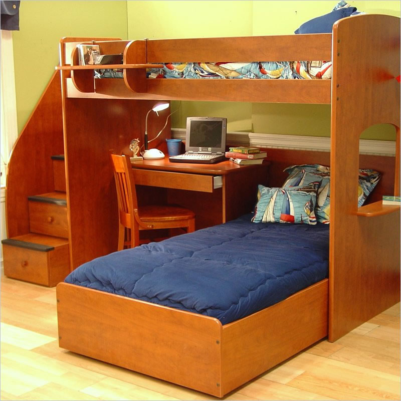 Twin Over Full Bunk Bed with Desk: Best Alternative for Kids ...
