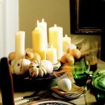 Candle Centerpiece For Table