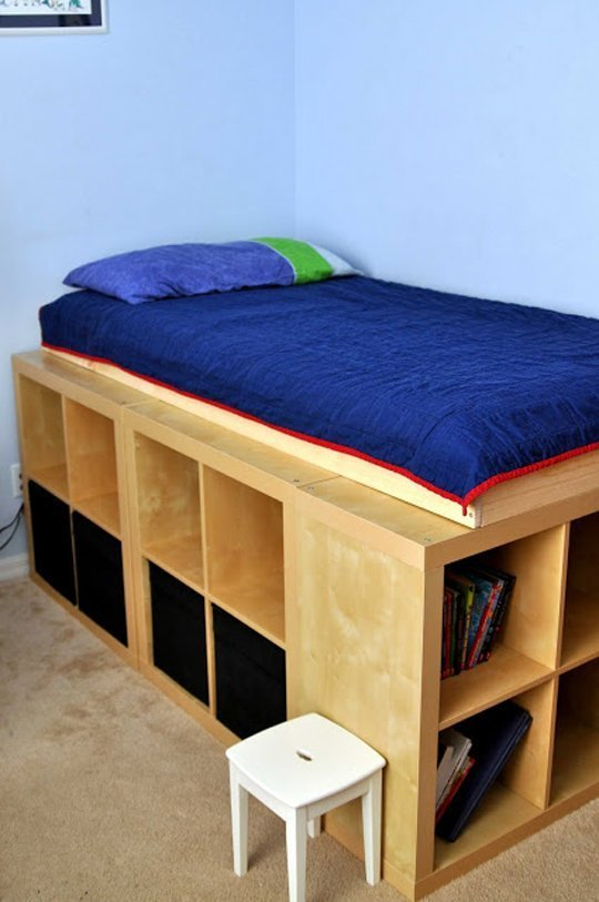 Captain Bed Frame Idea From Ikea