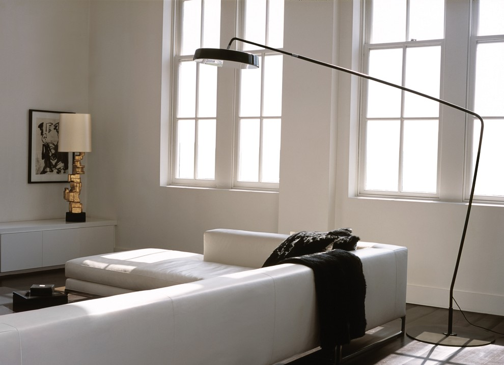 Arched Floor Lamp Bedroom