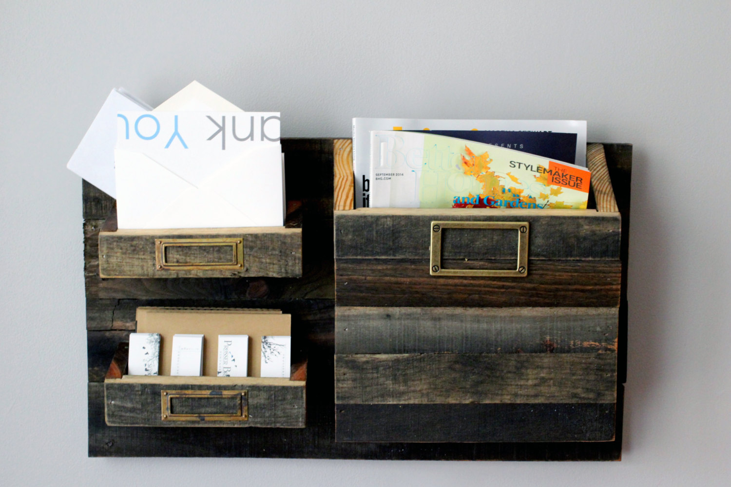 Wall Mounted Mail Organizer A Best Storing Solution For