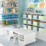 Elfa Storage System Idea For Kids Room