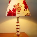 Flower Design Of Colorful Table Lamps