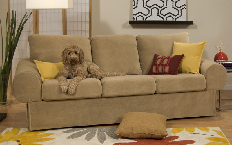Best fabric couches for dogs homesfeed - Why you should consider microfiber for your upholstery ...