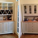 Modern sideboards with hutch in white