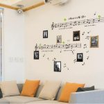Music-theme room decor
