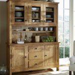 Rustic Sideboard With Hutch