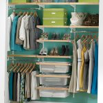 Wardrobe Elfa storage system idea