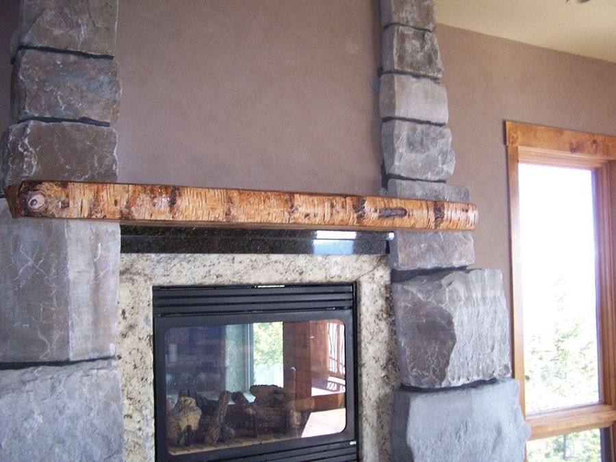 Reclaimed Wood Mantels For A Rustic Or Antique Fireplace