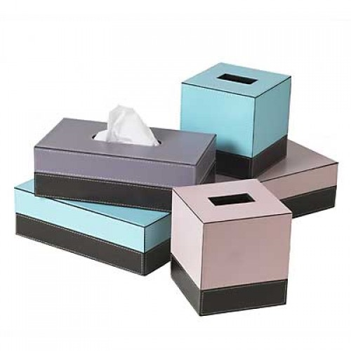 Paper Tissue Box Cover Products In Diffe Colors