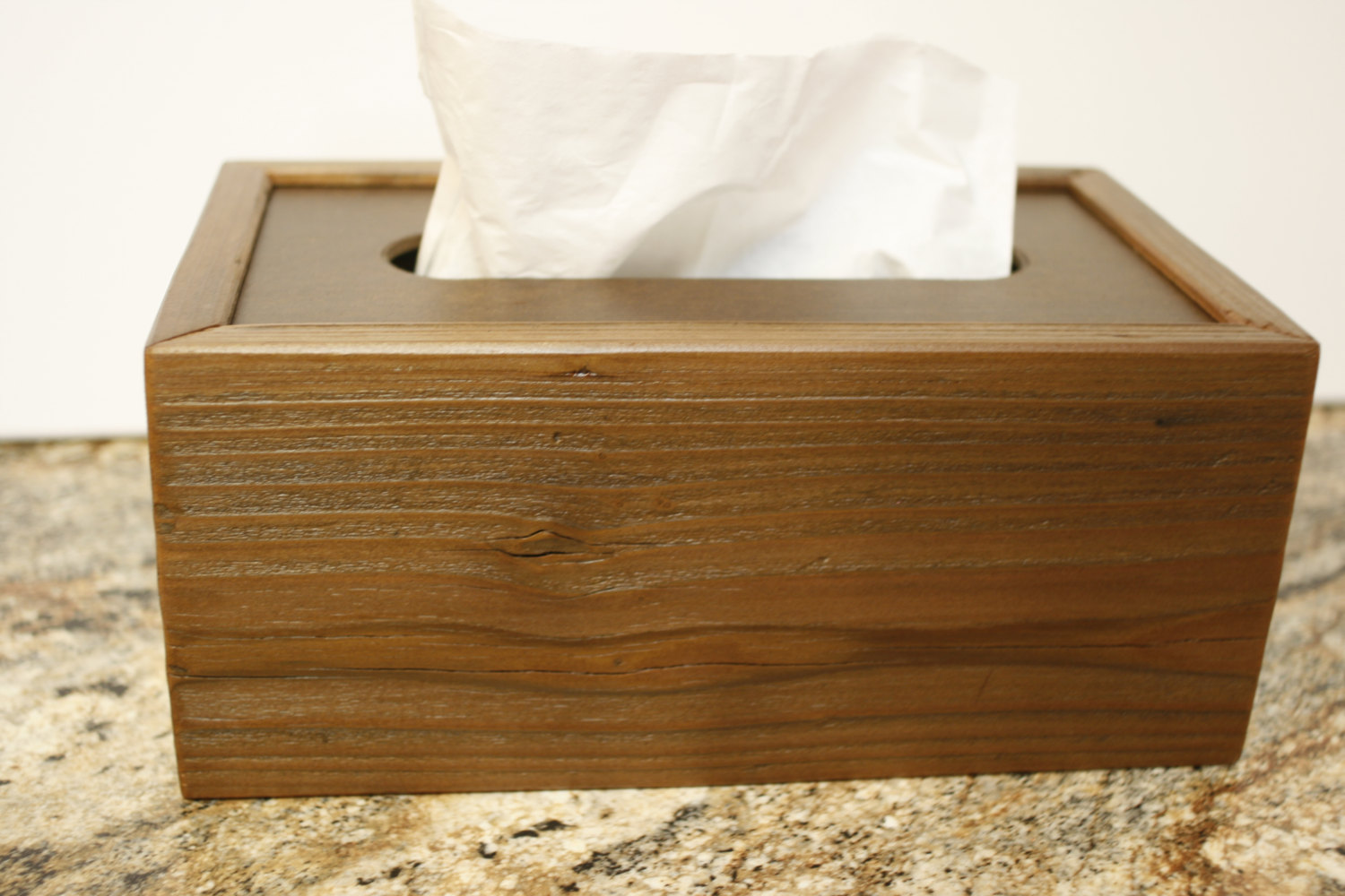 Rectangle Tissue Box Cover Made Of Hardwood Material