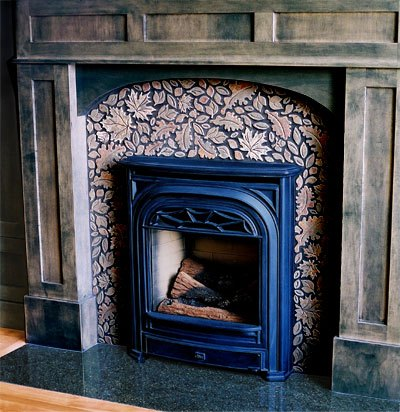 Enchanting Fireplace with Classic Modern for Panel on Mantel with Wooden Decoration for Fire Mantel and Ceramic Tiles for Decoration of Fire Floor