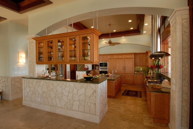 kitchen cabinets hanging from ceiling great designs of kitchen remodel hawaii homesfeed 20477