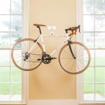 Modern Style Room With Simple But Elegant Bike Storage Solution