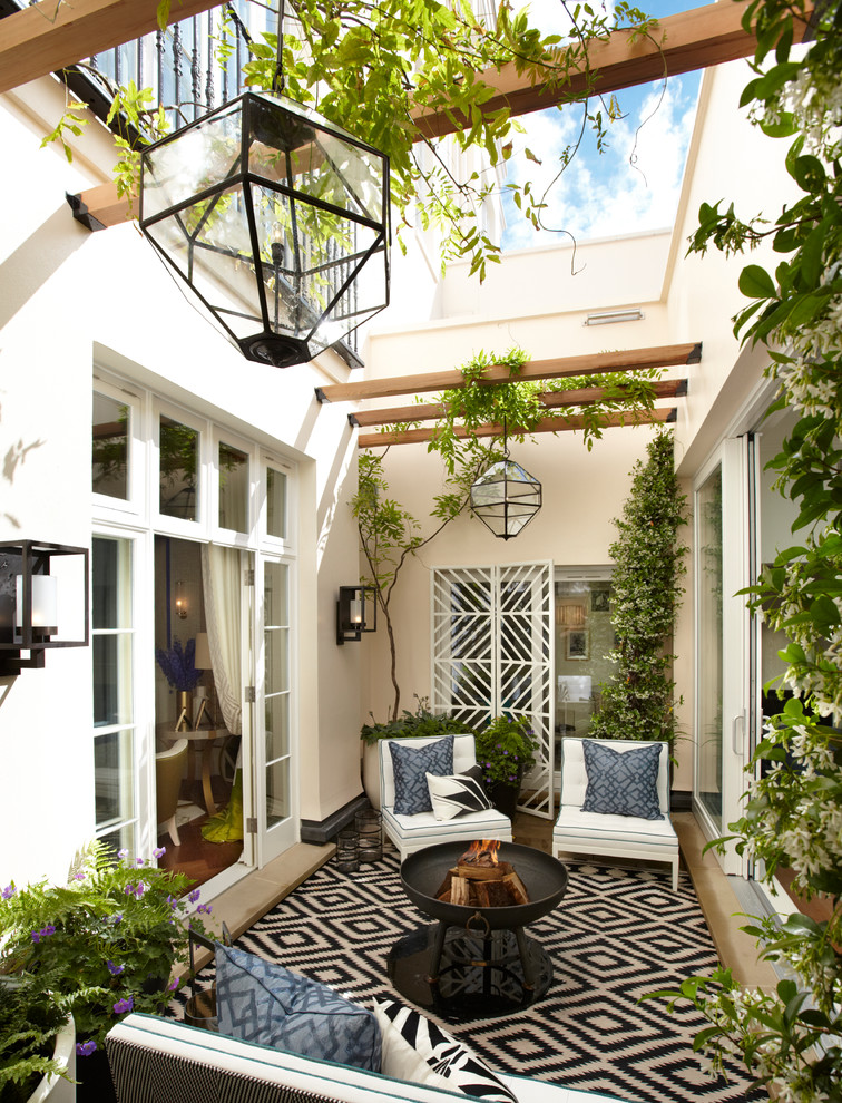 Explore Light Fixtures for Indoor-Outdoor with These ... on Black And White Patio Ideas id=25960