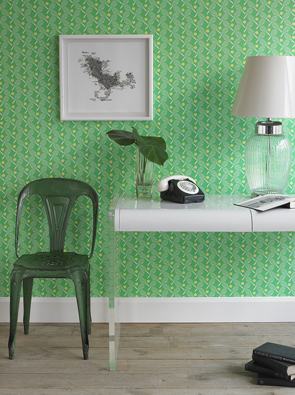 green wallpaper modern vintage plastic side chair made of black acrylic clear acrylic hall console table