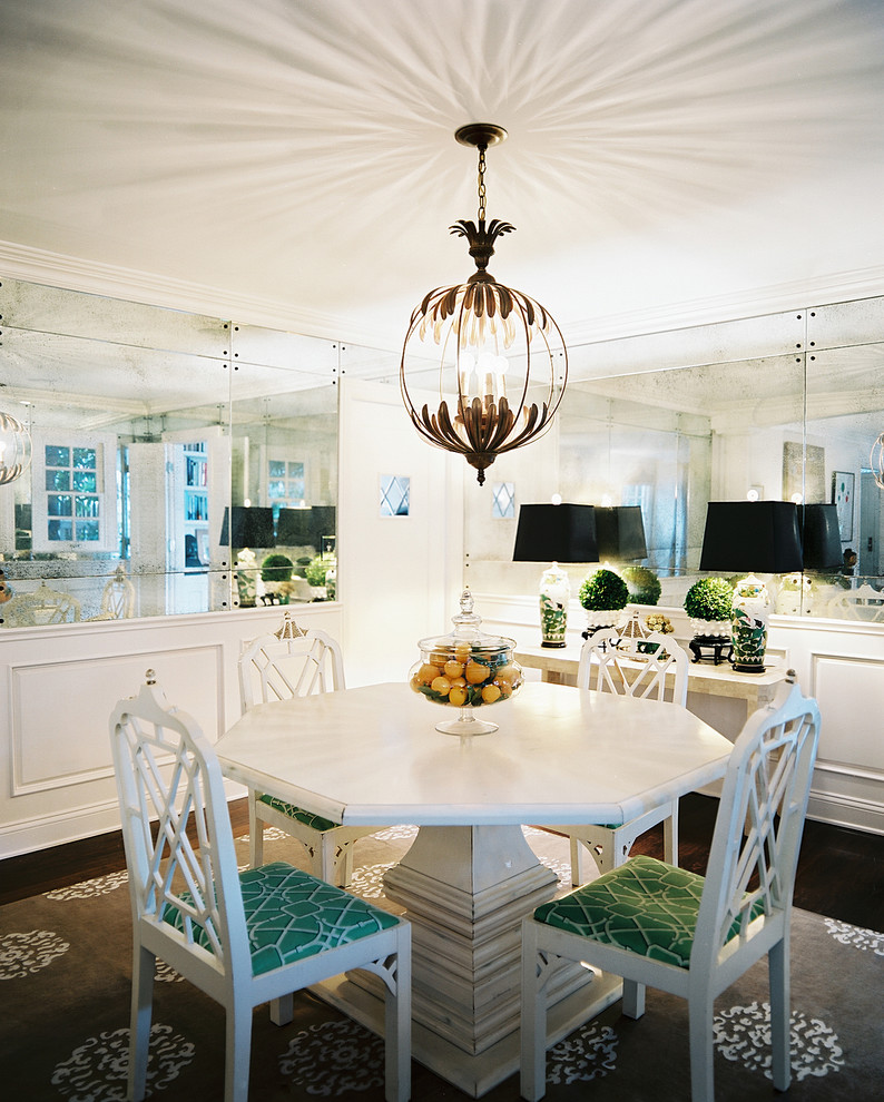eclectic dining room vintage dining furniture set pendant with handy lampshade
