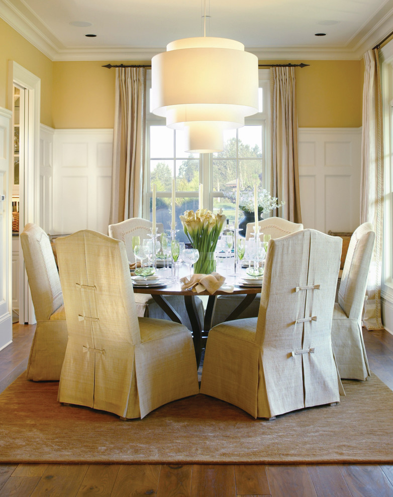 white Barrel chair slipcovers with kick pleats and banded cover on back