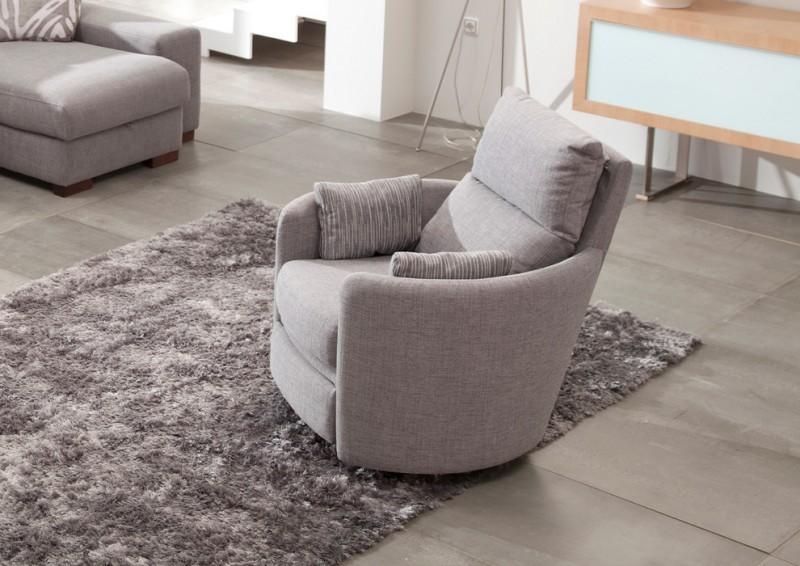 modern recliner chair in soft gray soft gray throw pillows gray shug rug soft gray tiled floors