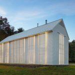 Ultra Modern Farmhouse Exterior In White
