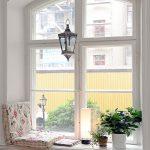 Creative Reading Nook Mattress Seat Houseplants On Small Pots Traditional Pendant