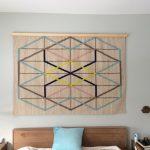 Creative IKEA Rug Wall Decor In Neutral Color