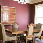 Deeply Dark Purple Wall Traditional Wood Dining Furniture Ethnic Wall Decor With Frame Traditional Pendant
