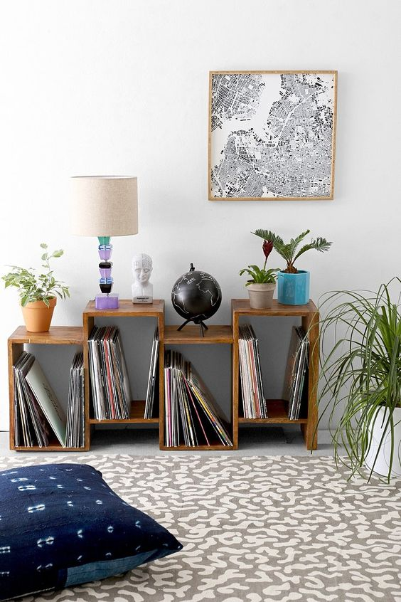 lower shift shelf for home library