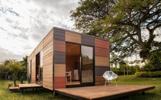 affordable compact designed home in practical modern style