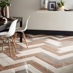 Herringbone Tiles With Nayara Polished And Wood Effect