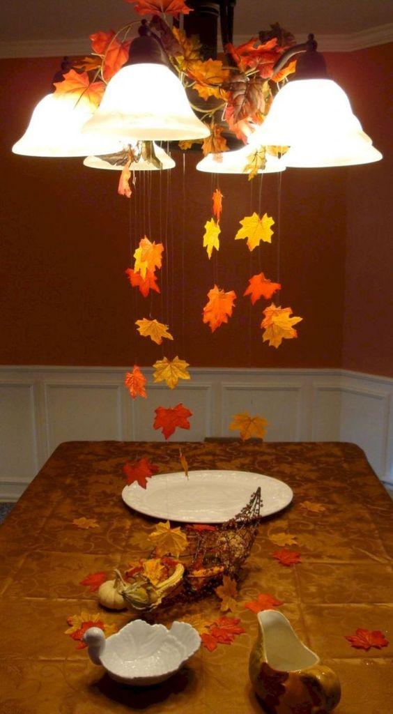fallen leaves decoration for pendants