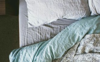 double sided duvet cover with sprinkles